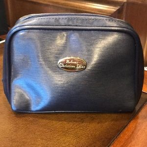 Christian Dior Makeup Bag Navy